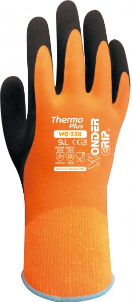Wonder Grip WG-338 Thermo Plus Latex-Kälteschutzhandschuhe